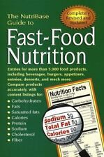 The NutriBase Guide to Fast-Food Nutrition NutriBase Paperback
