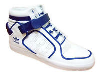 New Mens Adidas Originals Adi-Rise Mid White/Blue Trainers 7 8 9 10 11 12 V22679