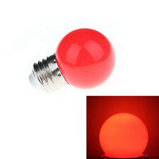 Red 1W E27 mini LED Golf Ball Bulb Globe Light energy saving Outdoor Lamp LTMUK