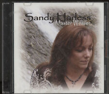 SANDY HARLESS MASTER WEAVER SINGLE MUSIC CD,SEALED