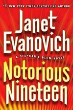 Notorious Nineteen by Janet Evanovich (2012, Hardcover, Large Type)