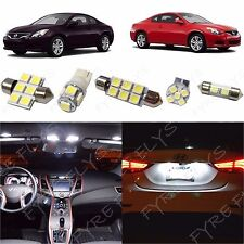 8 Piece white LED interior conversion package kit and license plate lights NA2W