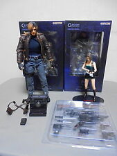 Biohazard Resident Evil Figure set Chris Redfield Jill Hot Toys Leon S Kennedy