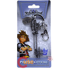Kingdom Hearts Oathkeeper Key Chain Licensed Pewter Metal Key Ring