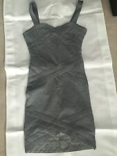 DIVIDED grey dress size 8