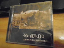 SEALED RARE OOP As All Die CD Time Of War & Conflict AUTUMN TEARS dark ambient !