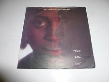 MICA PARIS AND WILL DOWNING - Where Is The Love - 1989 German Juke Box Single