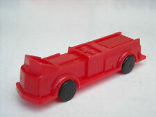 Vintage plastic toy fire truck