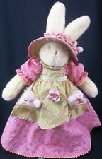 Hallmark BUNNIES BY THE BAY 2002 Miss Wisdom Wittles School Plush Collectible