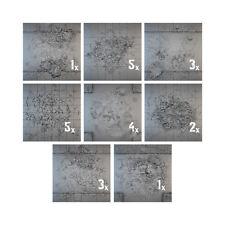 """Arma secreta BNIB tablescapes urbano calles dañado 24 azulejo conjunto (6 """"x4"""") ts2403"""