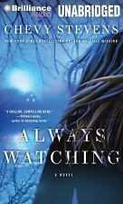 Always Watching by Chevy Stevens (2014, MP3 CD, Unabridged)