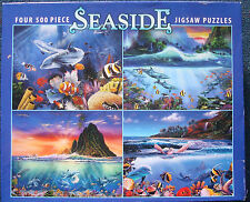 jigsaw puzzle 2000 pc total 500 pc Seaside dolphins turtles seascapes