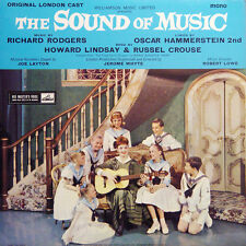 THE SOUND OF MUSIC R Rodgers UK Press His Master's Voice CLP 1453 Mono 1963 LP