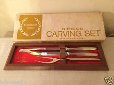 New NIB Washington Forge 3 Piece Carving Set in Original Opened Box
