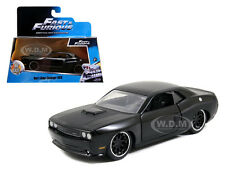 DOM'S DODGE CHALLENGER SRT8 BLACK FAST & FURIOUS MOVIE 1/32 MODEL BY JADA 97384