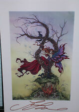 Amy Brown - What Dreams May Come - Mini Print - SIGNED