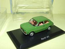 FIAT 127 Vert 1971 HACHETTE sous blister