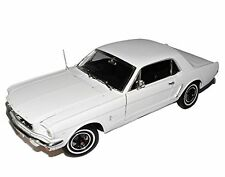 Welly 1/18 - AUTO US-CAR FORD MUSTANG 1/2 COUPE 1964 (BIANCO/WHITE) - Nuovo/Scatola Originale