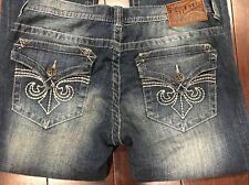 AFFLICTION Mens COOPER Jeans, 31 x 34, REPUBLIC RULER, Fleur Flap Pockets, NWT