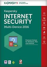 Kaspersky Internet Security 2016 Multi-Device | 3 PC | 1 Jahr | deutsch + 2017