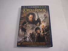 The Lord of the Rings: The Return of the King (DVD, 2004, 2-Disc Set, Widescree…