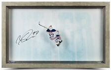 """CONNOR McDAVID Signed """"Great From Abovel"""" Acrylic Display UDA"""