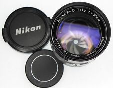 Nikkor-O 55mm f1.2 CRT High Resolution Lens  #722207 .......... Minty