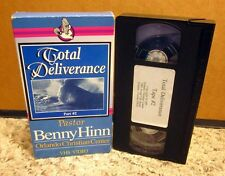 BENNY HINN Total Deliverance 2 casting out demons VHS healing ministry Christian