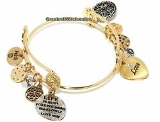 "R.J. Graziano ""Day by Day"" With Love & Life is Short Dangle Forgive Bracelet"