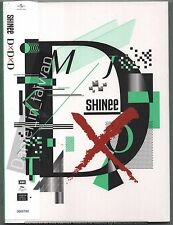 SHINee: DxDxD (2016) CD & DVD & CARD & 48p PHOTOBOOK TAIWAN