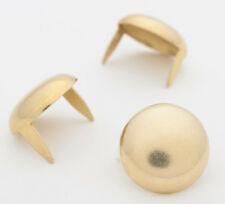 """Large Brass Dome Studs 16mm (5/8"""") Bag of 50 for denim & leather StudsAndSpikes"""