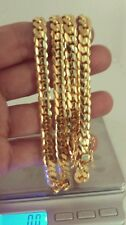 """14K Miami Cuban Link Chain Solid Gold , 24"""" 7.60 MM 100 Grams"""
