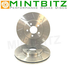 Dimpled And Grooved BRAKE DISCS REAR Mitsubishi 3000GT GTO 284mm