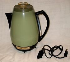 Vtg 70s Sunbeam Coffeemaster 11-Cup Fully Automatic Percolator Coffee Pot Maker!
