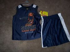 NWT Boys SCOOBY DOO  Shorts Set Size 18 Months