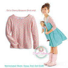 American Girl CL KITS CHEERY BLOSSOM TOP M 10/12 for Girl Shirt Chicken Keeping