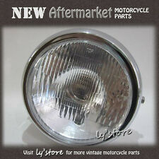 [124.H1] HONDA CM200T CB250 CM250C CM400 CM450 HEAD LIGHT 12V & CASE 7""
