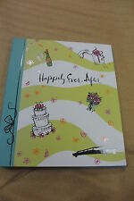 HAPPILY EVER AFTER NOTE BOOK/JOURNAL/AGENDA/KEEPSAKE..PERFECT FOR A BRIDE TO BE!