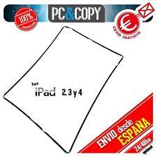 Marco lateral plástico negro para iPad 2 A1396 black Repuesto fijación pantalla