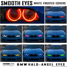 Smooth Eyes BMW M3 E46 Halo-Angel Eye Rings kit and Remote!