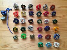 Lot of 33 old plastic beyblade!! Takara made Japan !! Free shipping!!!