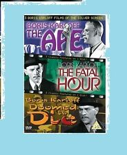 dvd 3 films on 1 dvd boris karloff the ape fatal hour doomed to die 1940 regon 0