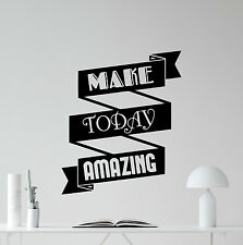 Office Motivation Quote Wall Decal Business Vinyl Sticker Poster Decor Art 27quo
