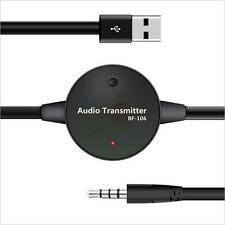 3.5mm RCA TV Audio Bluetooth 3.0 Transmitter USB Free-drive Bluetooth Adapter