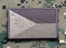 PHILIPPINES TACTICAL FLAG FILIPINO ARMY MORALE BADGE MULTICAM EMBROIDERED PATCH