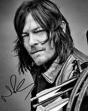NORMAN REEDUS #2 10X8 PRE PRINTED (SIGNED) LAB QUALITY PHOTO REPRINT - FREE DEL