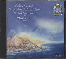 DANIEL LEVY - Edvard Grieg The sonatas for violin and Piano - CD EDELWEISS 1990