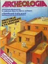 Archéologia n°176 - 1983 - Emar ville sur l'Euphrate - Architecture carolingienn