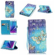 Handy Tasche Flip Wallet Case Schutz Silikon Cover Etui Hülle Für iPhone Fashion