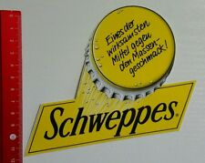 Aufkleber/Sticker: Schweppes gegen Massengeschmack (110716127)